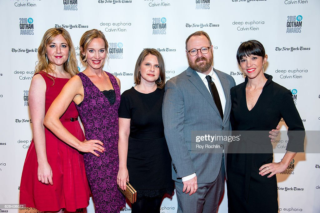 Amy Rapp, Susan Thomson, Megan Gilbride, Keith Maitland, and Sarah Wilson attend the 26th Annual Gotham Independent Film Awards at Cipriani Wall Street on November 28, 2016 in New York City.