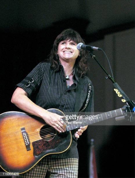 Amy Ray of Indigo Girls during Concert of Colors Featuring Ladysmith Black Mambazo and Indigo Girls at Max M Fisher Music Center in Detroit Michigan...