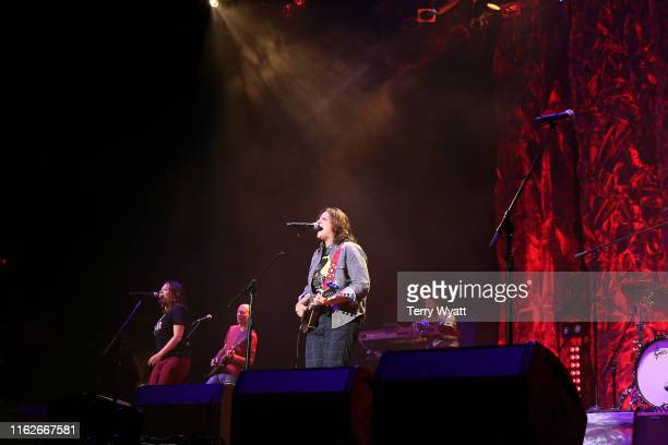 Amy Ray performs onstage during the 6th Annual Georgia On My Mind presented by Gretsch at Ryman Auditorium Nashville on July 17 2019 in Nashville...