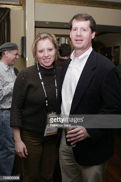 Amy Redford and Billy Campbell President of Discovery