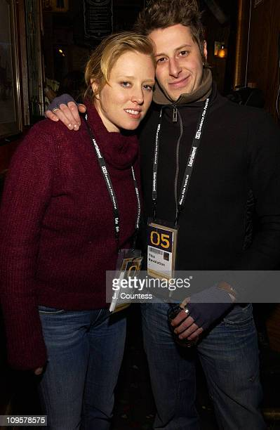 Amy Redford and Nathan Crocker during 2005 Sundance Film Festival IFC Party at Ciseros in Park City Utah United States