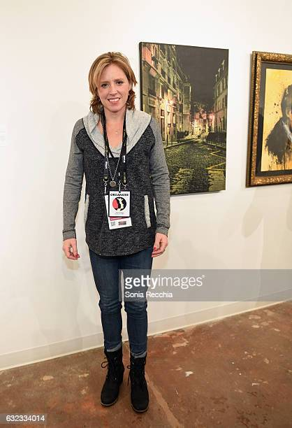 Amy Redford attends the ThirtyThree Celebrating 33 Years Of The Independent Spirit Sundance Film Festival Exhibit at Kimball Art Center on January 21...