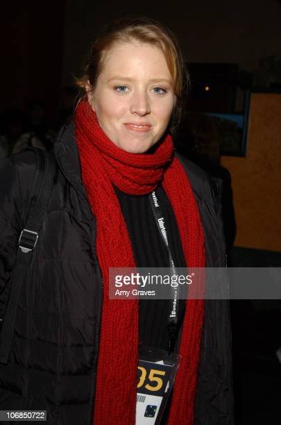 Amy Redford during 2005 Park City Lifetime Television Women and Men Speak Out to Stop Violence with Michael Bolton at Brasserie in Park City Utah...