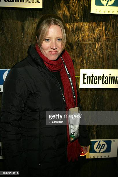 Amy Redford during 2005 Sundance Film Festival Entertainment Weekly Party Sponsored by Hewlett Packard at The Shop in Park City Utah United States