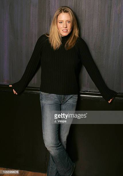 Amy Redford during 2005 Sundance Film Festival This Revolution Portraits at HP Portrait Studio in Park City Utah United States