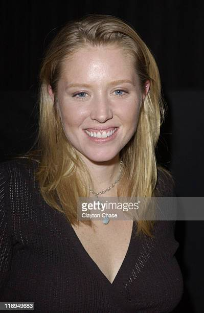 Amy Redford during 2005 Sundance Film Festival This Revolution QA at Library Theatre in Park City Utah United States