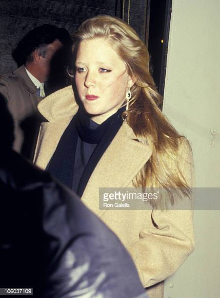 Amy Redford during Twyla Tharp Dance Opening February 3 1987 at Brooklyn Academy of Music in New York City New York United States