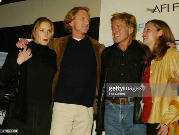 Amy Redford James Redford Robert Redford and Kyle Redford