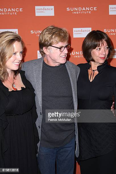 Amy Redford Robert Redford and Sibylle Szaggars attend ROBERT REDFORD Hosts 2008 SUNDANCE INSTITUTE CELEBRATION FUNDRAISER at Roseland Ballroom at...
