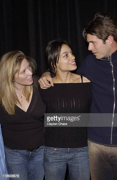 Amy Redford Rosario Dawson and Stephen Marshall director of This Revolution