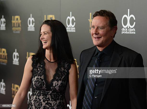 Amy Reinhold and actor Judge Reinhold attend the 19th Annual Hollywood Film Awards at The Beverly Hilton Hotel on November 1 2015 in Beverly Hills...