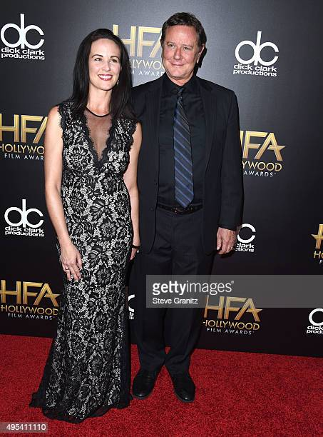 Amy Reinhold and Judge Reinhold arrives at the 19th Annual Hollywood Film Awards at The Beverly Hilton Hotel on November 1 2015 in Beverly Hills...