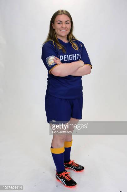 Amy Rille poses for a portrait during the Otago Farah Palmer Cup Headshots Session on August 16 2018 in Dunedin New Zealand