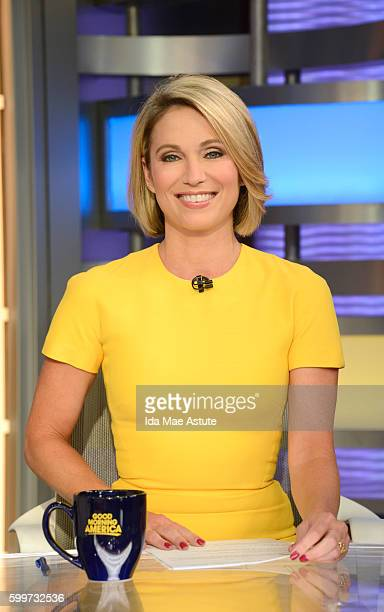 AMERICA Amy Roach on Good Morning America 9/6/16 airing on the Walt Disney Television via Getty Images Television Network AMY