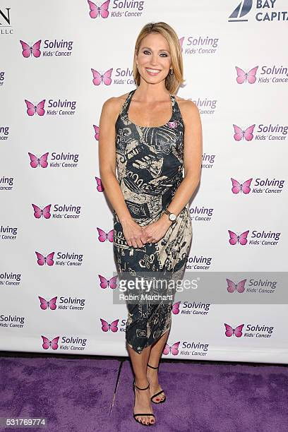 Amy Robach attends 7th Annual Solving Kids' Cancer Spring Celebration on May 16 2016 in New York New York