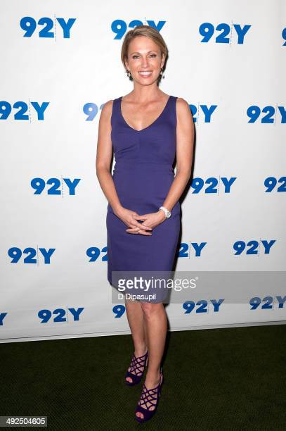 Amy Robach attends an evening with Mariano Rivera at 92nd Street Y on May 20 2014 in New York City