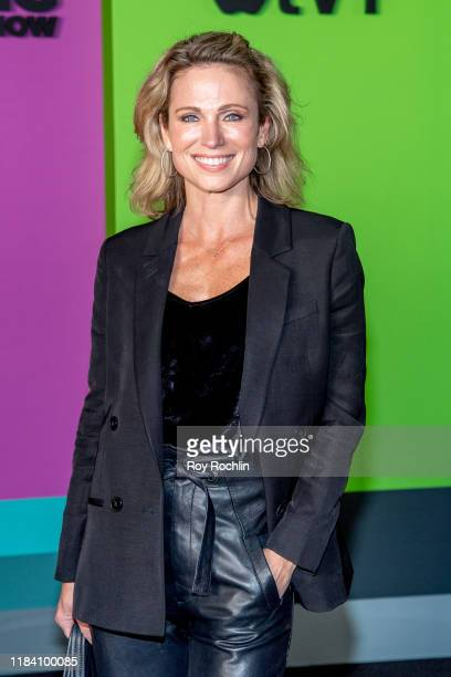 """Amy Robach attends Apple TV+'s """"The Morning Show"""" world premiere at David Geffen Hall on October 28, 2019 in New York City."""