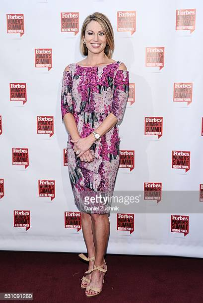 Amy Robach attends the 2016 Forbes Women's Summit on May 12 2016 in New York New York