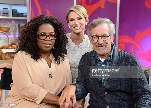 Amy Robach talks to Oprah Winfrey and Steven Spielberg are their new movie ÄúThe Hundred Foot Journey,Äù based on a novel. The interview airs on GOOD...