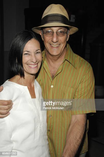 Amy Rosi and Peter Rosenthal attend Cocktails to Celebrate Sally Randall Brunger's 50th Birthday at The Ace Hotel on August 27 2009 in New York City