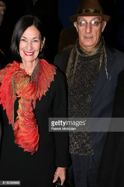 Amy Rosi and Peter Rosenthal attend MAUBOUSSIN and ELSA ZYLBERSTEIN present 'Van Gogh' the film at Tinker Auditorium on November 2 2010 in New York...