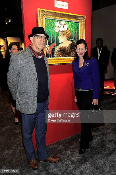 Amy Rossi and Peter Rosenthal attend 2016 NYAAJS Opening Night at Pier 94 on November 9 2016 in New York City
