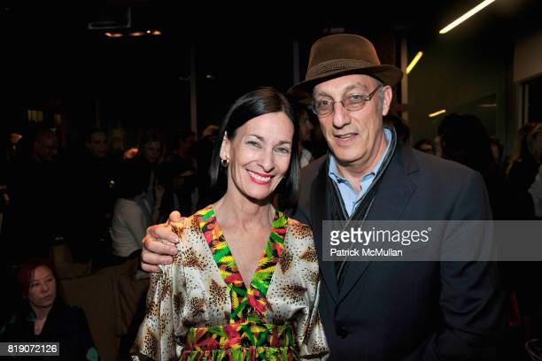 Amy Rossi and Peter Rosenthal attend FIRST BLOOM Art and Photography Auction to Benefit The FRIENDS OF THE HIGH LINE at Equinox on March 18 2010 in...