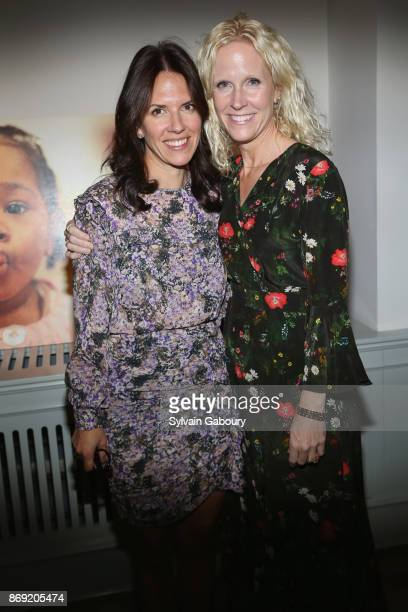 Amy Rotter and Amie Nuttall attend ABC's Fifteenth Annual Thanks for Giving Benefit on November 1 2017 in New York City