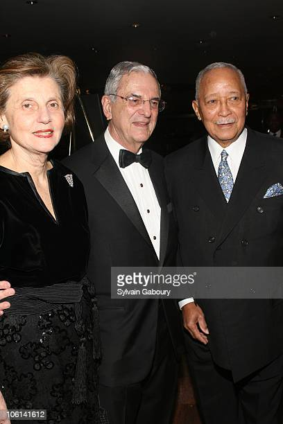 Amy Rubenstein Howard Rubenstein and David Dinkins
