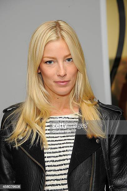 Amy Ruby attends Aelita Andre Exhibit Opening Night at Gallery 151 on October 28, 2014 in New York City.