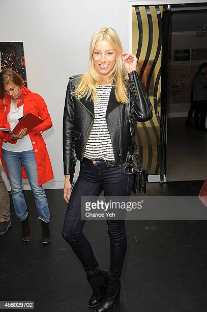 Amy Ruby attends Aelita Andre Exhibit Opening Night at Gallery 151 on October 28 2014 in New York City