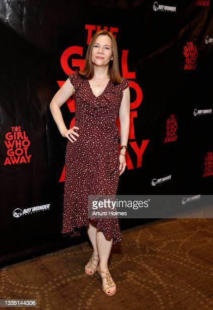 Amy Russ attends The Girl Who Got Away Film Premiere at AMC Theater on August 19, 2021 in New York City.