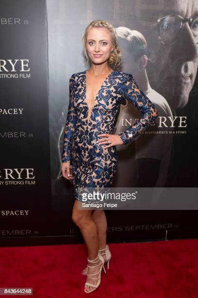 Amy Rutberg attends 'Rebel In The Rye' New York Premiere at Metrograph on September 6 2017 in New York City
