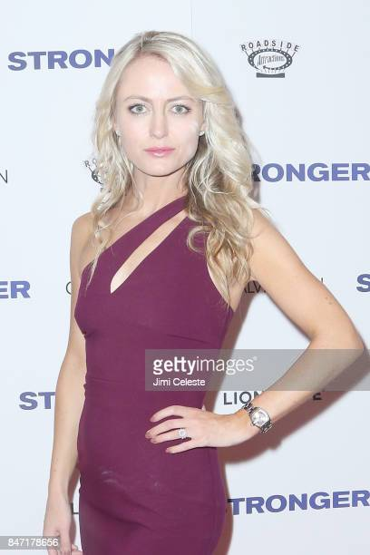 Amy Rutberg attends the New York premiere of 'Stronger' at Walter Reade Theater on September 14 2017 in New York City