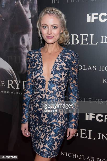 Amy Rutberg attends the 'Rebel in the Rye' New York Premiere at Metrograph on September 6 2017 in New York City