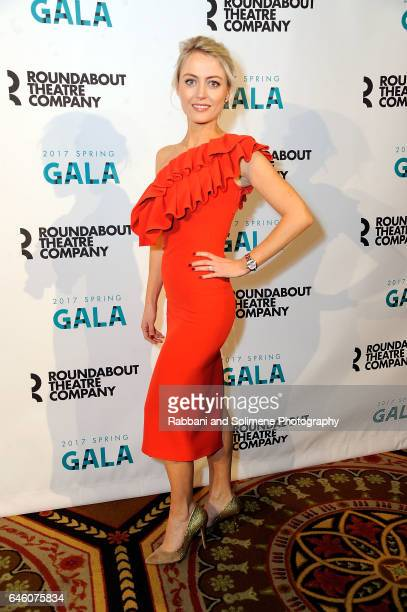 Amy Rutberg attends the Roundabout Theatre Company's 2017 Spring Gala at The Waldorf=Astoria on February 27 2017 in New York City