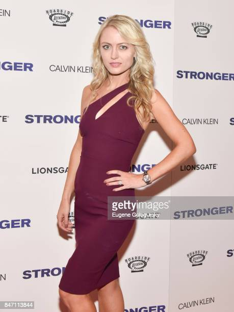 Amy Rutberg attends the 'Stronger' New York Premiere at Walter Reade Theater on September 14 2017 in New York City