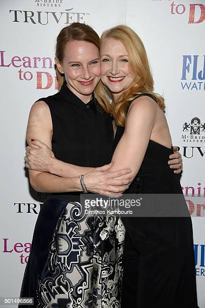 Amy Ryan and Patricia Clarkson attend A Celebration for Patricia Clarkson Presented by FIJI Water and Truvee Wines on December 15 2015 in New York...