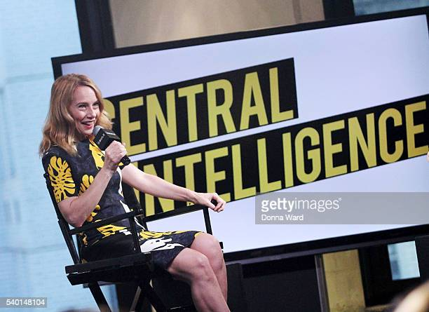 Amy Ryan appears to promote Central Intelligence during the AOL BUILD Series at AOL Studios In New York on June 14 2016 in New York City