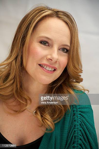 Amy Ryan at the Green Zone press conference at the Ritz Carlton Hotel on February 26 2010 in New York City