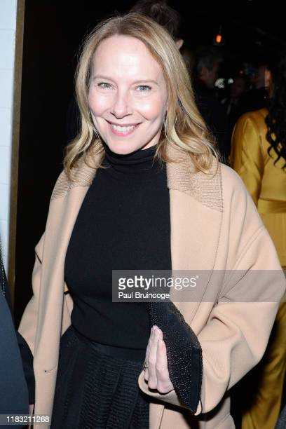 Amy Ryan attends New York Special Screening Of A Beautiful Day In The Neighborhood After Party at Le District Restaurant on November 17 2019 in New...