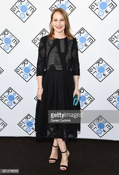 Amy Ryan attends the 2016 Room To Grow Spring Benefit at Tribeca Three Sixty on April 14 2016 in New York City