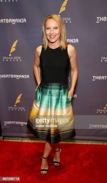 Amy Ryan attends the 2017 Drama Desk Awards at Town Hall on June 4 2017 in New York City