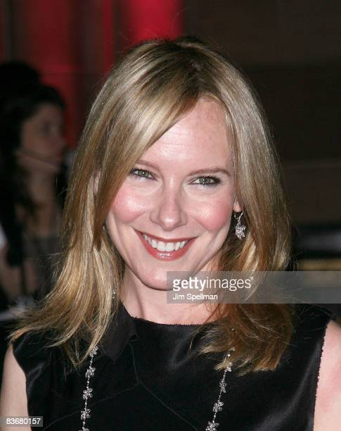 Amy Ryan attends the 24th Annual Museum of the Moving Image's salute to Ben Stiller at Cipriani on 42nd Street on November 12 2008 in New York City