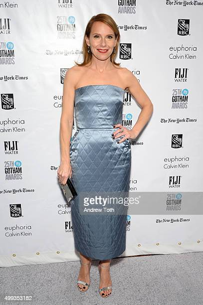 Amy Ryan attends the 25th annual Gotham Independent Film Awards at Cipriani Wall Street on November 30 2015 in New York City