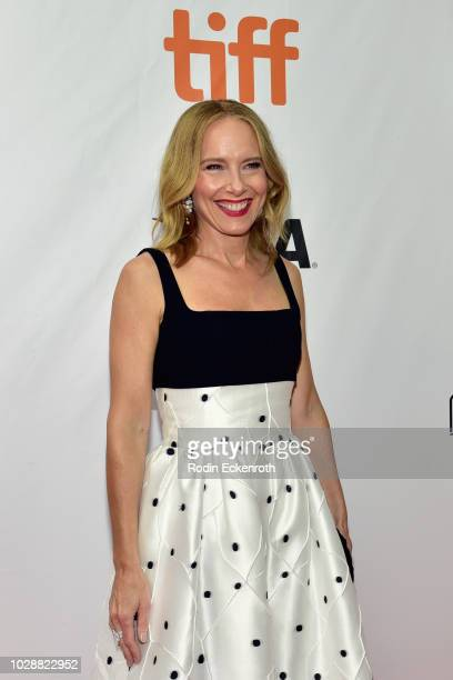 Amy Ryan attends the 'Beautiful Boy' premiere during 2018 Toronto International Film Festival at Roy Thomson Hall on September 7 2018 in Toronto...