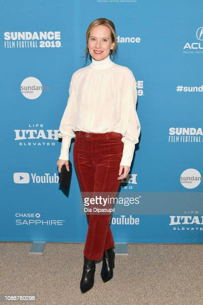 Amy Ryan attends the Late Night Premiere during the 2019 Sundance Film Festival at Eccles Center Theatre on January 25 2019 in Park City Utah