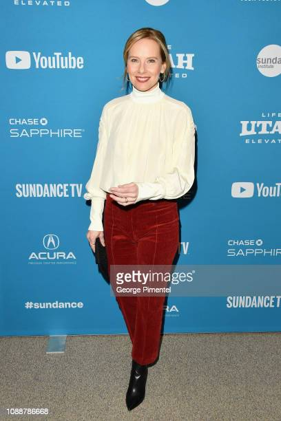 Amy Ryan attends the 'Late Night' Premiere during the 2019 Sundance Film Festival at Eccles Center Theatre on January 25 2019 in Park City Utah