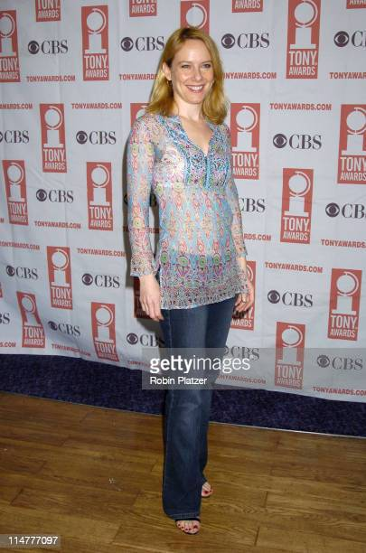 Amy Ryan during 59th Annual Tony Awards Nomination Press Conference at Marriott Marquis in New York City New York United States