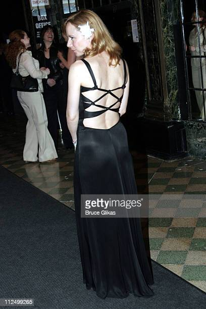 Amy Ryan during A Streetcar Named Desire on Broadway Curtain Call and After Party at Roundabout Theater at Studio 54 in New York NY United States